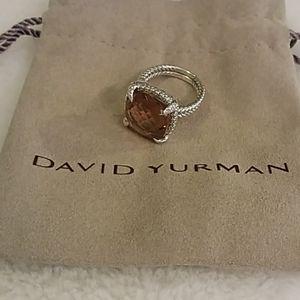 David Yurman Chatelaine morganite ring